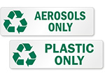 Recycling Bin Labels