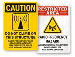 RF Tower Signs