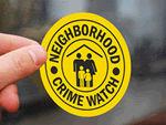 Community Watch Stickers