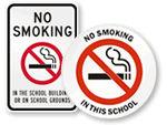 No Smoking on School Grounds
