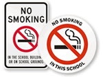 No Smoking on School Grounds