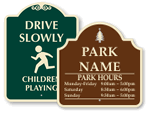 Designer Playground Signs