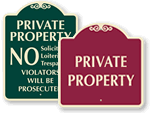 Private Property Signs