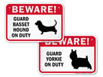 Signs by Dog Breed