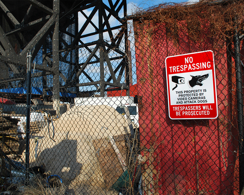 no trespassing signs for your property