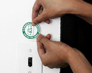 Conserve Energy Stickers
