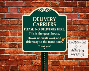 Custom Package Delivery Signs