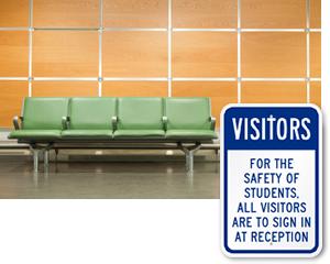 Custom Visitor Signs