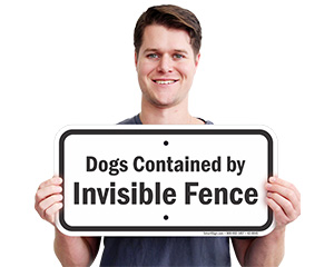 Funny Beware of Dog Sign