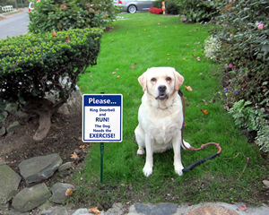 LawnBoss® Beware of Dog Signs