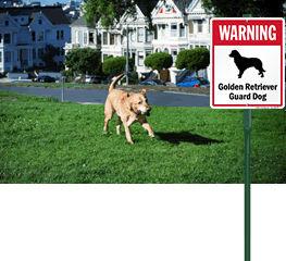 LawnBoss® Dog Warning Sign
