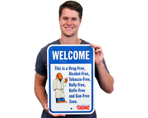 McGruff Neighborhood Watch Signs