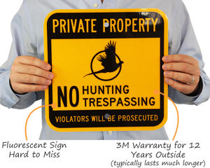 Private Property No Hunting Signs