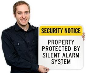 Silent Alarm Signs
