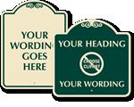 Custom Designer Signs