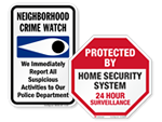 Looking for Home Security Signs?
