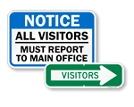 In-Stock Visitor Signs