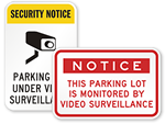 Looking for Parking Security Signs?