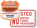 Looking for Posted Signs?