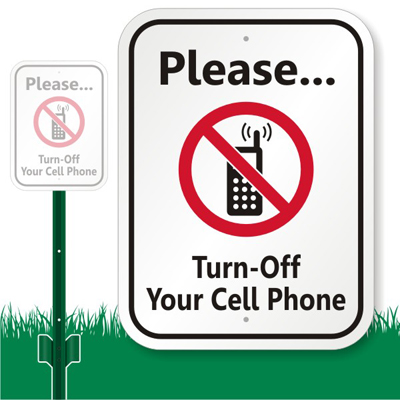please turn off all cell phones or mobile