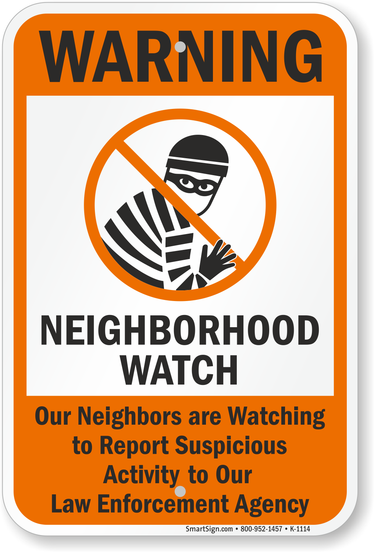 Can neighborhood sex crime watch consider, that