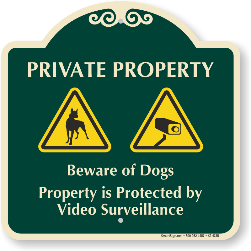 BEWARE OF DOGS VARIOUS SIZES SIGN /& STICKER OPTIONS WARNING SIGN