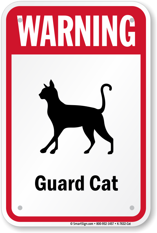 Funny Dog And Cat Signs