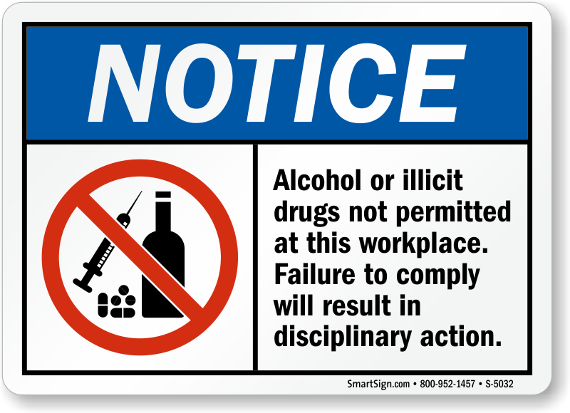 Drug testing policy template sample alcohol and drug abuse for Alcohol and drug abuse policy template