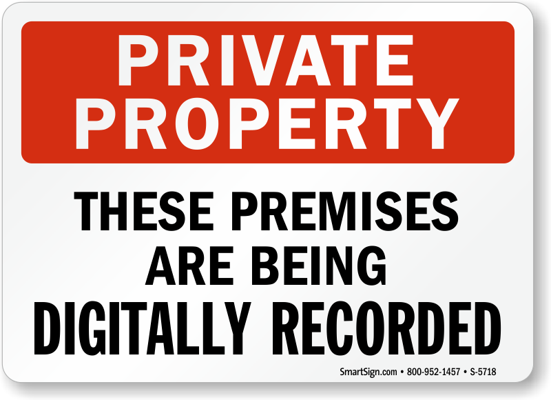Video surveillance signs free shipping options zoom price buy publicscrutiny Images