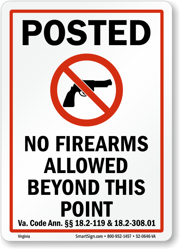 Concealed Carry Private Property Virginia