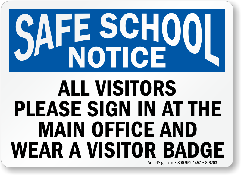 School Safety Signs