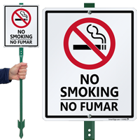No Smoking / No Fumar Sign