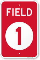 Field Number Sign Choose From Field 1 to 5