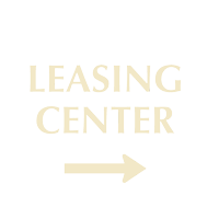 Designer Leasing Center Sign with Arrow