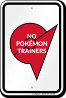 No Pokémon Trainers Sign with Pokémon League Symbol