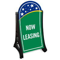 Now Leasing Sidewalk Sign Kit