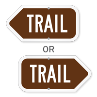 Trail Campground Sign