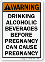 Drinking Alcoholic Beverages Before Pregnancy Cause Pregnancy Sign