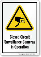 Closed Circuit Surveillance Cameras in Operation