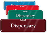 Dispensary ShowCase Wall Sign
