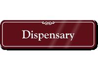 Dispensary ShowCase Wall Sign