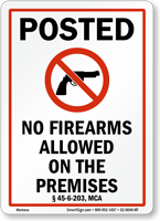 Montana Gun Control Law Sign