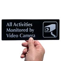 Video Surveillance Door Sign