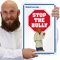 Stop The Bully (With Images) McGruff Sign