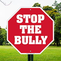 Stop The Bully! (Stop Format) McGruff Sign