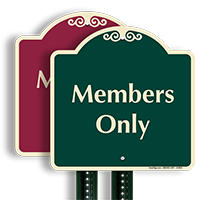Members Only SignatureSign