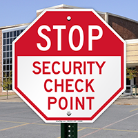 Stop Security Check Point Sign