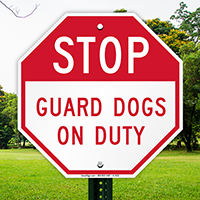 STOP Sign (Guard On Duty)