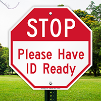 STOP: Identification Sign
