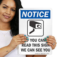 If You Can Read We Can See You Sign